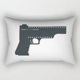Shoot film not people Rectangular Pillow