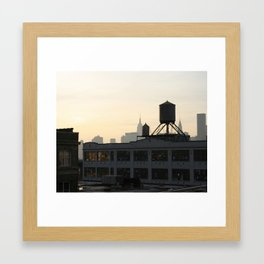 Queensboro Plaza Framed Art Print