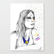 Colored Imagination Canvas Print