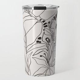Charcoal Tropics Travel Mug
