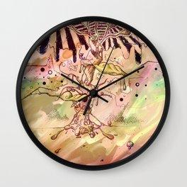 Magic Beans (Alternate colors version) Wall Clock