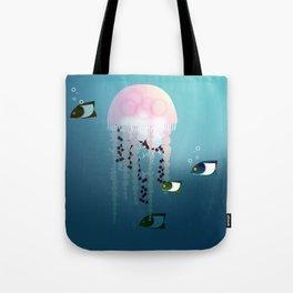 Jellyfish Olympics Tote Bag
