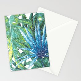 Philodendron & Flora Stationery Cards