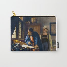 The Doctor and Vermeer's Geographer Carry-All Pouch