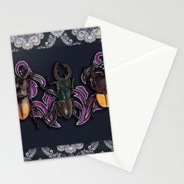 TRILOGY BEETLES III Stationery Cards