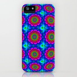 Flower  rainbow-colored iPhone Case