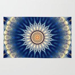 Mandala blue created by Tutti Rug