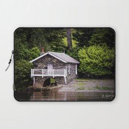 Boatshed On The Lake Laptop Sleeve