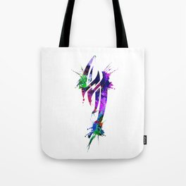 Jin Kazama Colorful ink Tote Bag