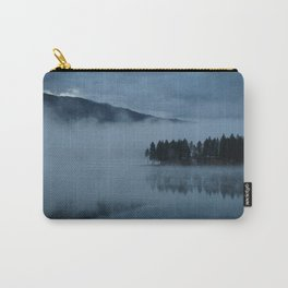 Foggy lake morning Carry-All Pouch
