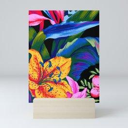 Let's Go Abstract Mini Art Print