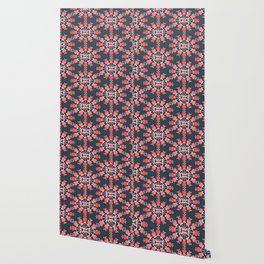 Daily pattern: Retro Flower No.9 Wallpaper