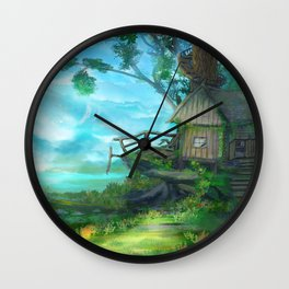 Cliffside Observatory Wall Clock