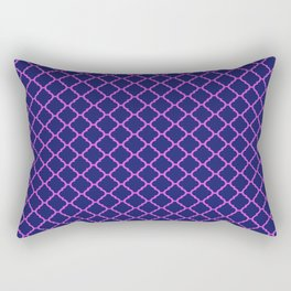 Moroccan Tile Pattern Funky Pop Colour Rectangular Pillow