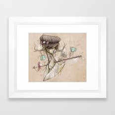 Far From Safety, Far From Grace Framed Art Print
