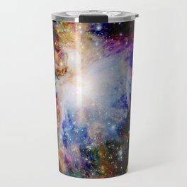 GaLaXY : Orion Nebula Dark & Colorful Travel Mug