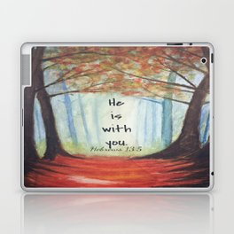 He is with you Laptop & iPad Skin