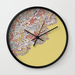 Flower Medley #1 Wall Clock
