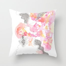 Scandi Micron Art Design | 170412 Telomeres Healing 29 Throw Pillow