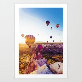 Capadocia, Turkey Art Print