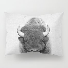 Buffalo - Black & White Pillow Sham