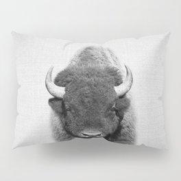 Buffalo - Black & White Pillow Sham