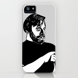 Stephen Sondheim Smoking iPhone Case
