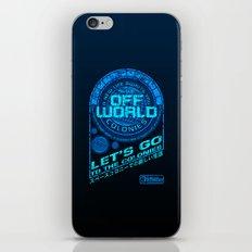 Off World iPhone & iPod Skin