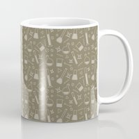 alchemy Mugs featuring Alchemy pattern by Loop in the mind