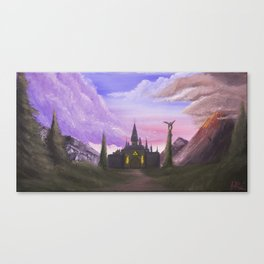 Path to Hyrule  Canvas Print