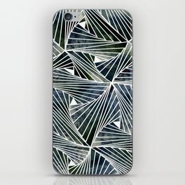 Dark Acquamesh iPhone Skin