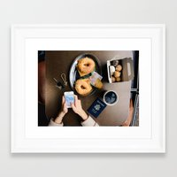 pocket fuel Framed Art Prints featuring Explorer Fuel by Eric Kimberlin Bowley