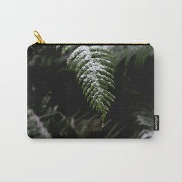 PNW Forest Fern - Minimal Nature Photography Carry-All Pouch
