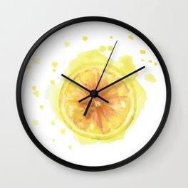 Lemon Art Wall Clock