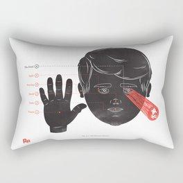 The Human Senses Rectangular Pillow