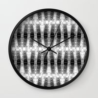 totem Wall Clocks featuring TOTEM by spixpah