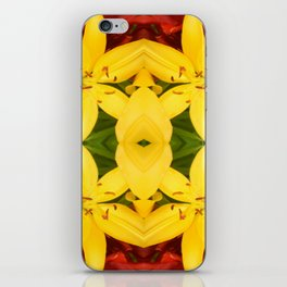 """""""A Gathering of Lilies"""" Remix - 3 (3-1) [D4468~49] iPhone Skin"""