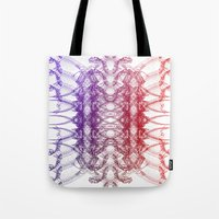 dinosaurs Tote Bags featuring Dinosaurs by Stefano Stefanini