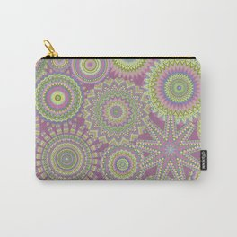 Kaleidoscopic-Fairytale colorway Carry-All Pouch