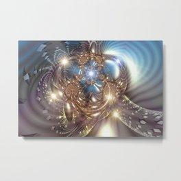 Borg (Gold) Metal Print