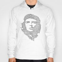 che Hoodies featuring Che by Rui Faria