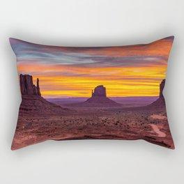 Monument Valley, Utah Rectangular Pillow