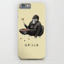 Grilla iPhone Case
