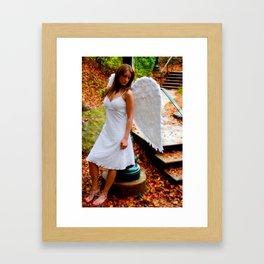 """Angel Among Us, image 5"" Framed Art Print"