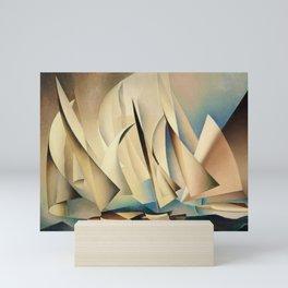 Pertaining to Sailing Yachts and Yachting by Charles Sheeler Mini Art Print