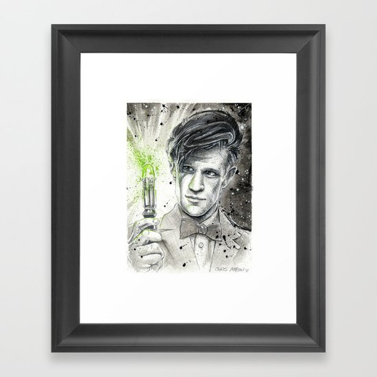 Doctor Who: The 11th Doctor Framed Art Print