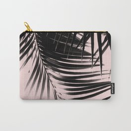 Palm Leaves Blush Summer Vibes #1 #tropical #decor #art #society6 Carry-All Pouch