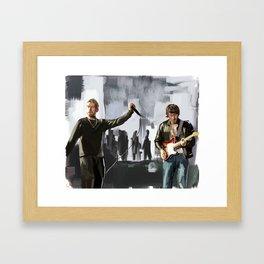 Song 2 Framed Art Print