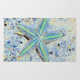 Starfish Abstract Rug