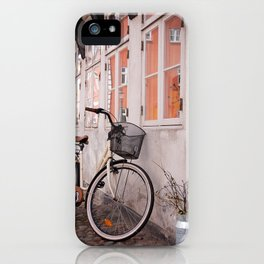 Bicycle in Ribe iPhone Case